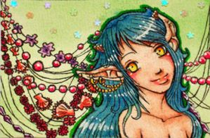 ACEO 53 Spring Feelings by Lulana