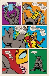 Lady Spectra and Sparky: Star Tomb pg.15 by JKCarrier