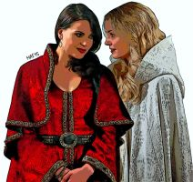 Swan Queen in Camelot by mstrong0623