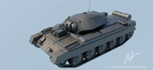 British Crusader tank by rOEN911