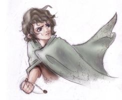 LOTR: Here is Frodo by KrisKenshin