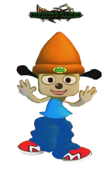 PaRappa the Rapper (Render) by DENDEROTTO