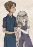 Gregor And Luxa by luisa0923
