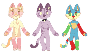 Anthro cat adopts [100 points] OPEN by Nagumei