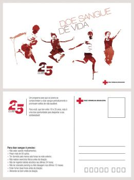 Red Cross Campaign - Club 25 by RaphaelAleixo