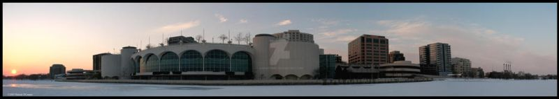 Monona Terrace Panoramic by Karuntribs