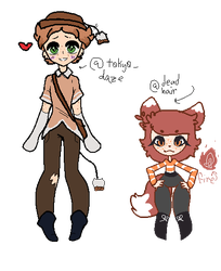 Freckle Boot Buddies [OTA] [COLLAB] by ThebestKatoheartpets