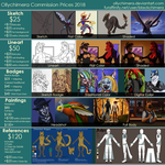 Ollychimera's Commission Prices 2018 by OllyChimera