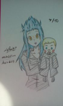 ~7/10~ Saix and Luxord [KH] by Ligthnig