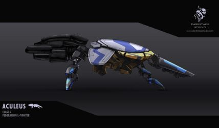 Aculeus spacefighter by YairMor