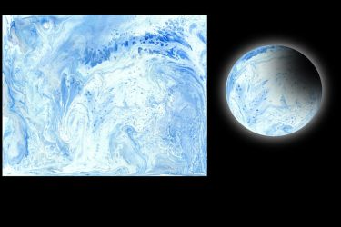 Cell Planet 033018B Ice Planet by Casperium