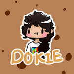 Dokie aka Browny - Member of our group by KatieWolfie