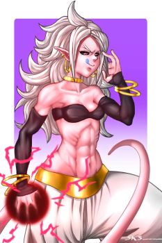 Android 21 (Majin) by Serpentkingsaul2