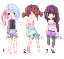 Auction | Girls Adopts CLOSED by Tokki-adopts