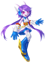 Freedom Planet 2:Lilac by BloomTH