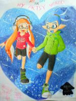Art Gift: Just you and me by Squidtoonist
