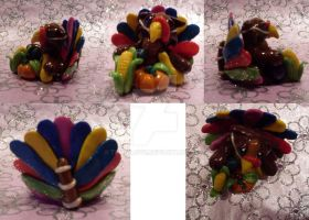 Happy Thanksgiving Kitty multiview by TerraLove
