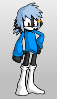 i made a super gay sonic character by burningblazecat