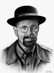 Heisenberg - Braking Bad by CiroCervone