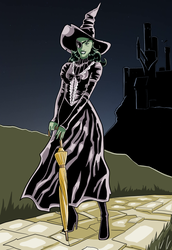 The Wicked Witch of the West by Hyaroo