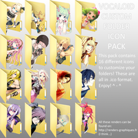 CharloteStraw's Vocaloid Folder Icon Pack by DesertDraggon