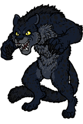 Werepanther for Reversusque by armundy