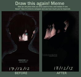 MEME | Draw This Again | Soundless by imMoxe