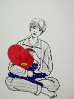 BTS - tae tae with tata by ppot