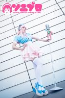 Sonipro Super Sonico Cosplay by K-I-M-I