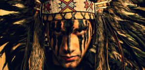 Native American Headband by Unholy4orce