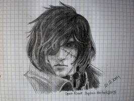 Quick Captain Harlock drawing? by nyappy541
