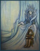 The Snow Queen and Kay by Sidhe-Etain