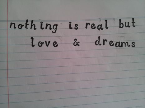 Love and Dreams by Dreaming-is-Freedom