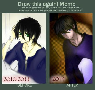 Meme - Draw This Again by 3leavesclover