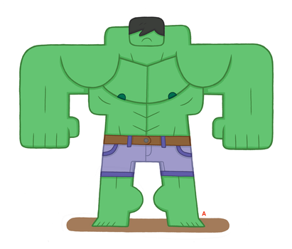 Hulk by captainalec