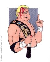 Dusty Rhodes by THEjesusmarquez
