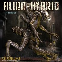 Alien Hybrid, by Summoner by FantasiesRealmMarket