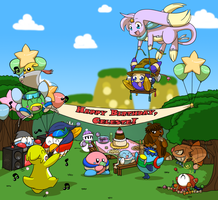 Party on Popstar! :: Happy Birthday Celeste! by RainbowFilled