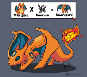 2016: Umbrezard by nintendobratkat