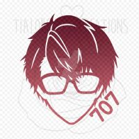 Decal - Mystic Messenger - 707 by TiaLorelei