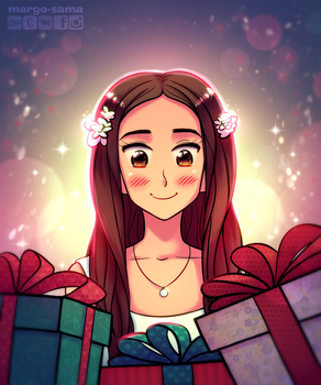 [Commission] X-mas presents by Margo-sama