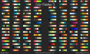 Color Palettes 3 by knti88