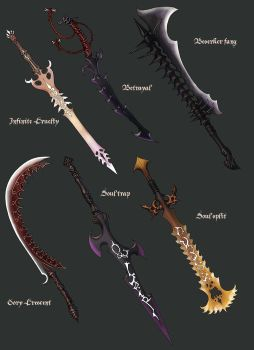 more swords hohoho by Wen-M