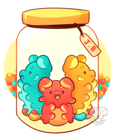 [AT] Jelly Beans by Chiki-nan