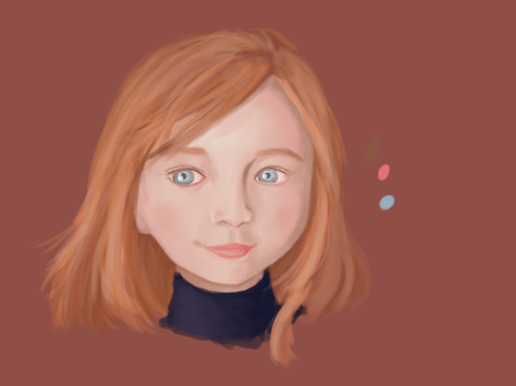 another face study by lalabell