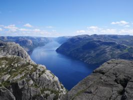 On Preikestolen by lmsgblh
