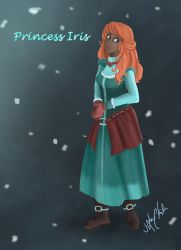 Princess Iris (normal) by Snow-Daisy