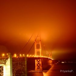 golden gate bridge by priyankappatel29