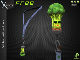 Broccoli necklace - a Freebie from PlantPets! :) by EntecMedia
