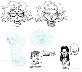 Apartmageddon - More sketches 2 by SteamPoweredMikeJ